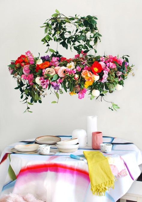 We-Are-Scout_flower-chandelier_1-600x853